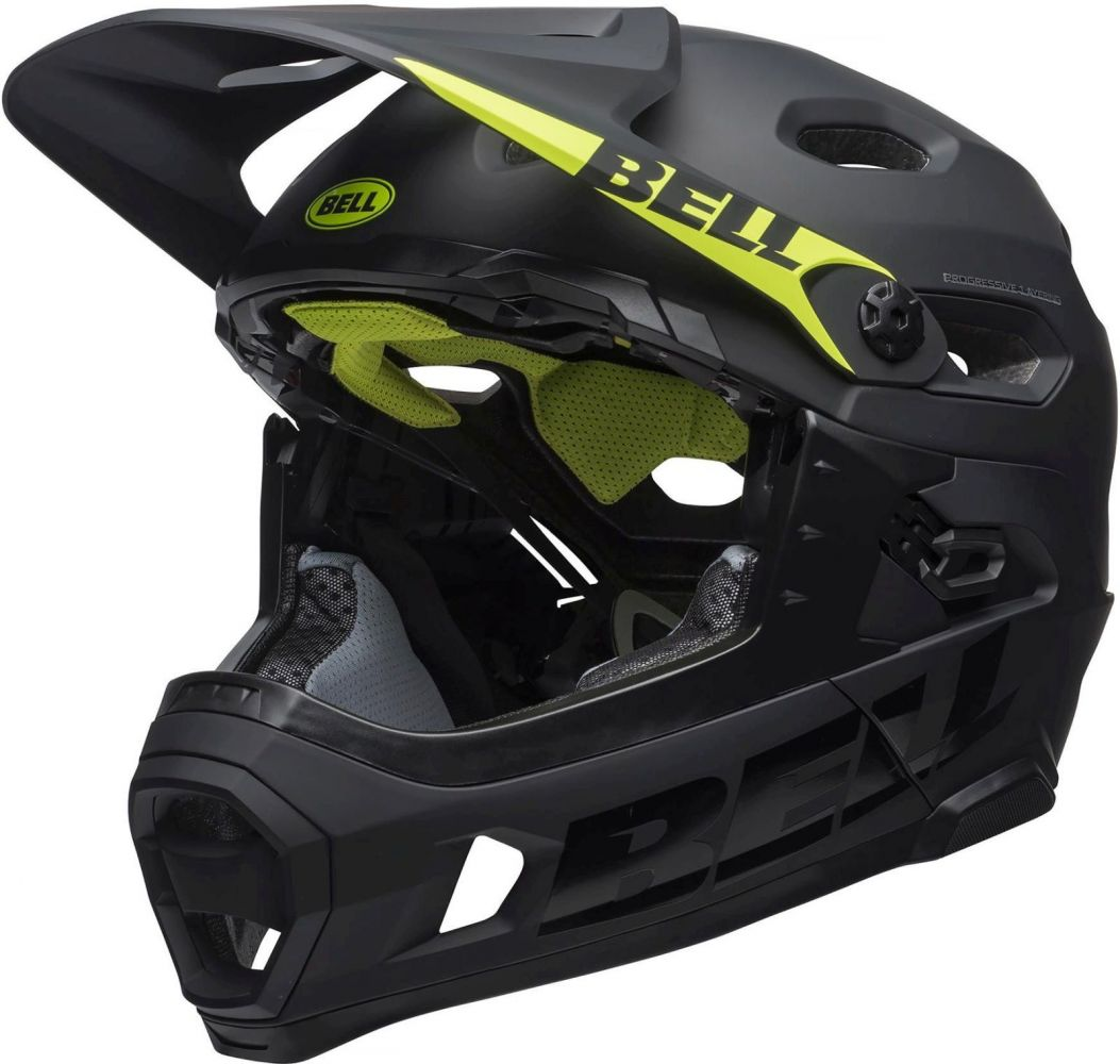 Bell Super DH Spherical Mat/Glos Black