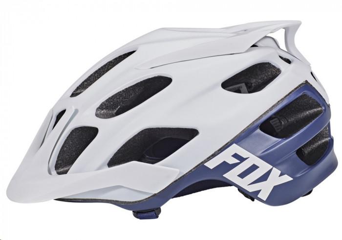 Fox Flux Creo Helmet – white/navy
