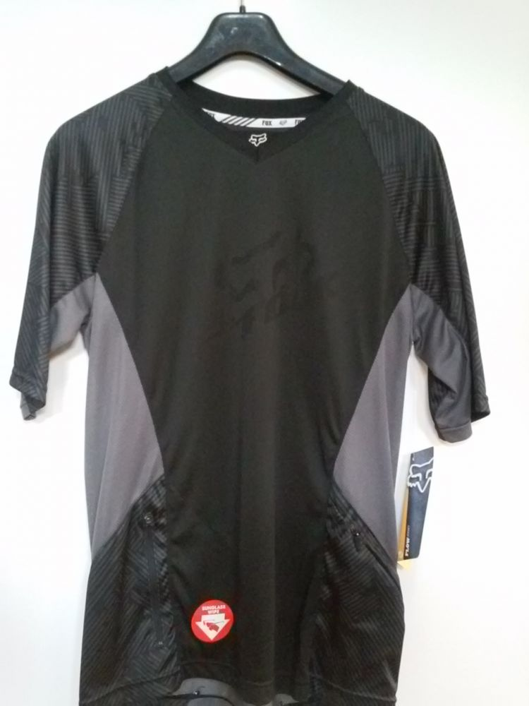 Flow Fox Jersey Black