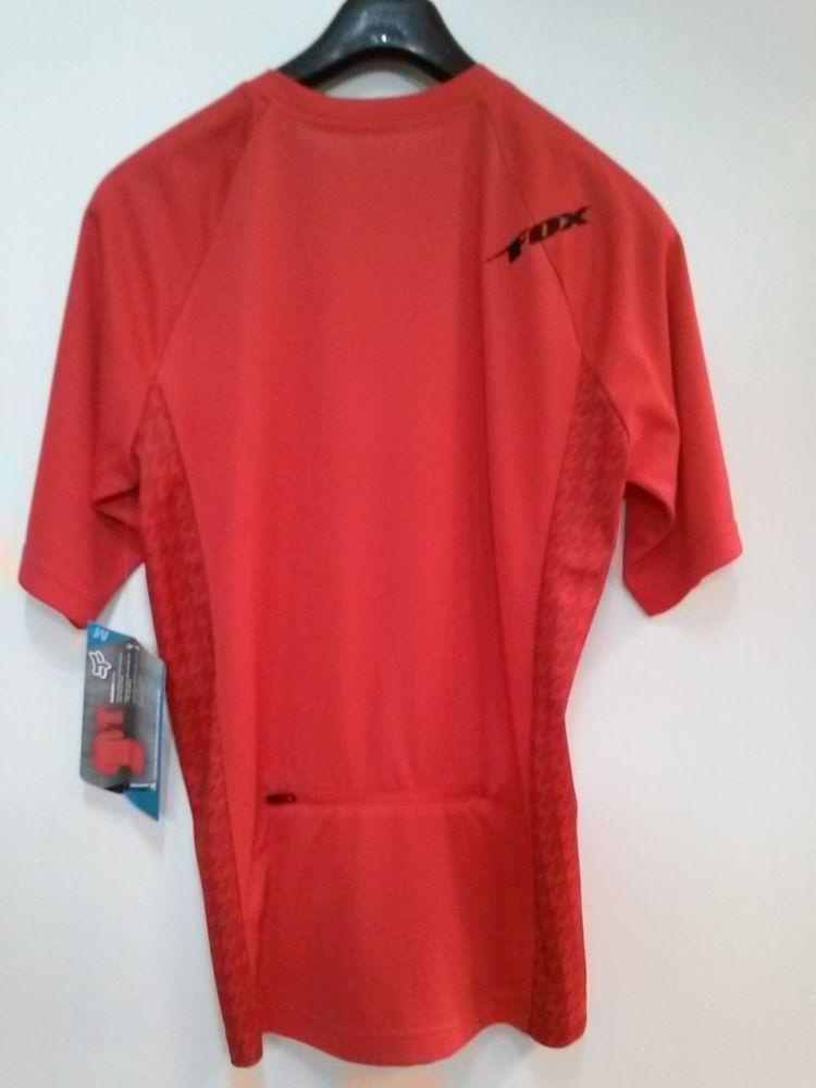Fox Baseline s/s Jersey Red